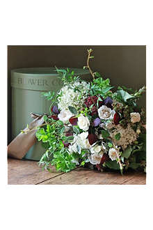 THE REAL FLOWER COMPANY Scented Summer Garden bouquet hat box