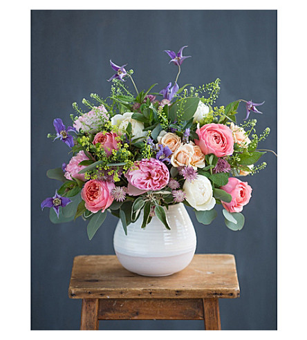 THE REAL FLOWER COMPANY Seasonal Coral Bouquet