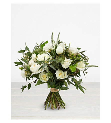THE REAL FLOWER COMPANY Seasonal Ivory bouquet