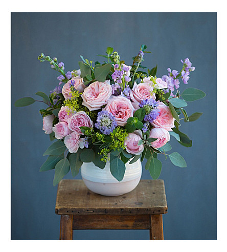 THE REAL FLOWER COMPANY Seasonal Pastel Pink Bouquet
