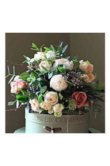 THE REAL FLOWER COMPANY Christmas Scented Woodland Rose Posy bouquet