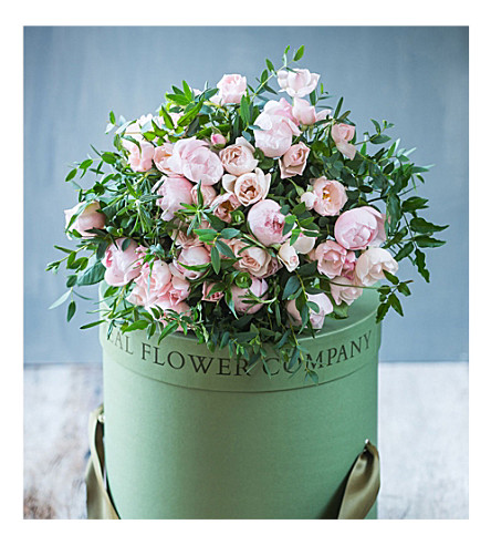 THE REAL FLOWER COMPANY Wild Pastel Pink Bouquet