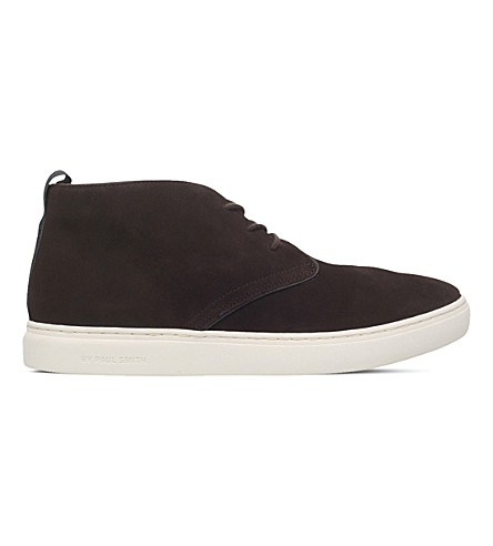 PAUL SMITH Fong suede chukka boots (Brown