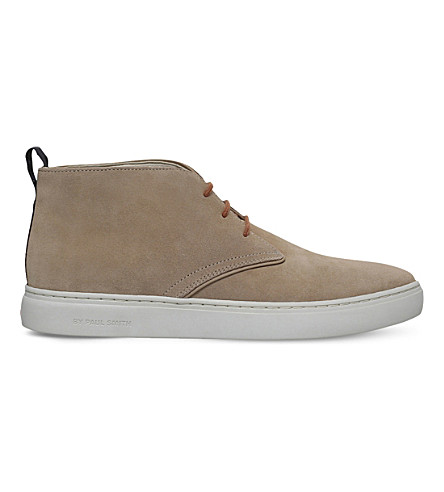 PAUL SMITH Fong suede chukka boots (Beige