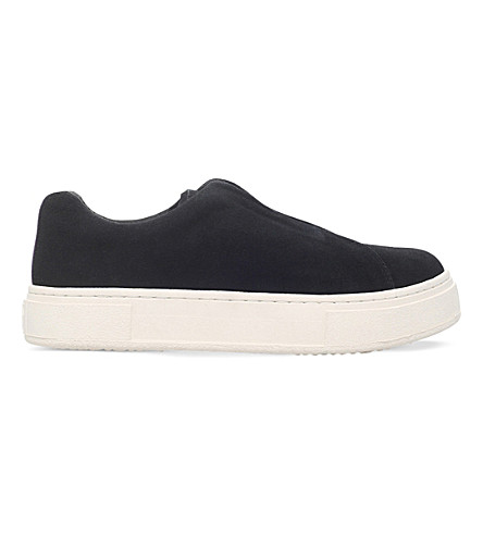 EYTYS Doja suede slip-on trainers (Black