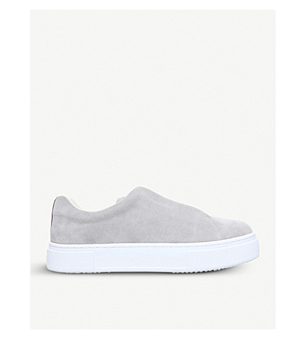 EYTYS Doja suede slip-on trainers (Grey