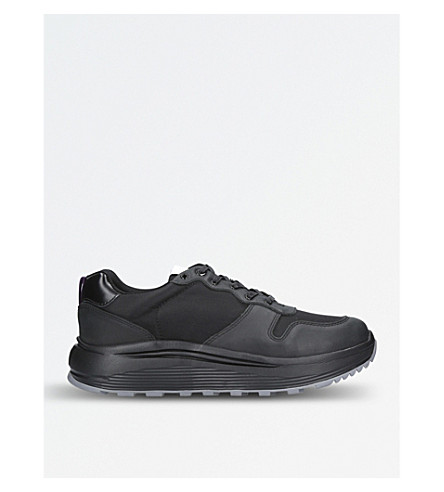 EYTYS Jet Combo leather trainers (Blk/other