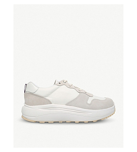 EYTYS Jet Combo leather trainers (White