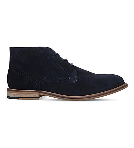 KG KURT GEIGER Hayle suede desert boots (Navy