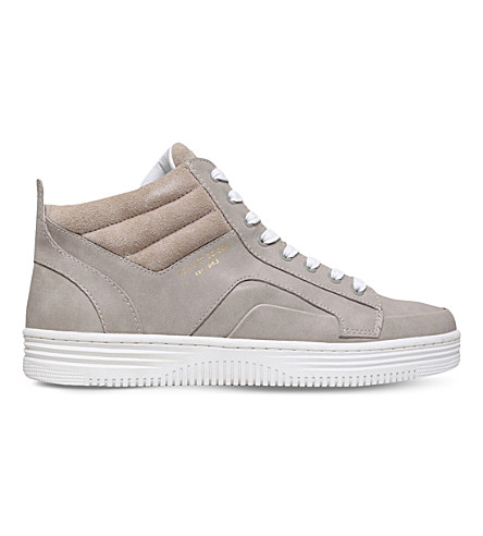 KG KURT GEIGER Phoebe high-top trainers (Grey