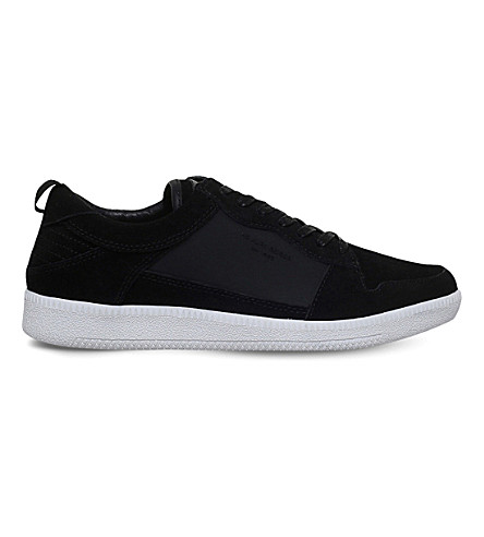 KG KURT GEIGER Younge suede trainers (Black