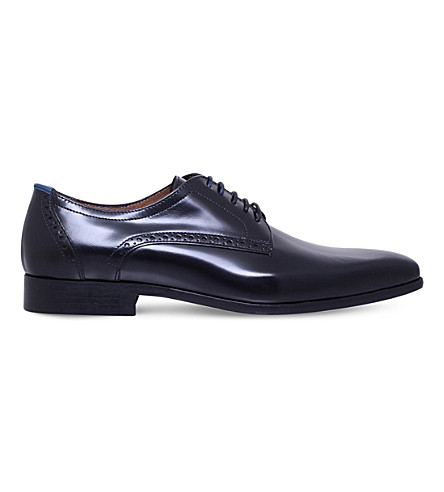 KG KURT GEIGER Mensa leather Derby shoes (Black