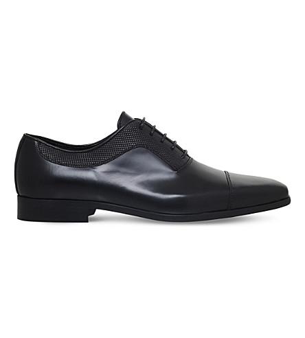 KG KURT GEIGER Mansion leather oxford shoes (Black