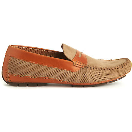 STEMAR Capri perforated loafers (Taupe