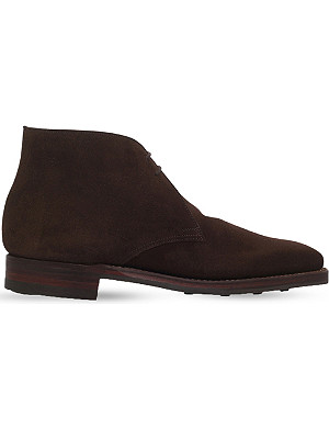 CROCKETT & JONES Tetbury chukka desert boots