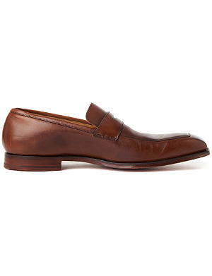 CROCKETT & JONES Merton apron loafers