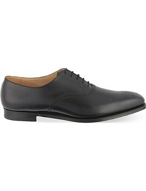 CROCKETT & JONES Edgeware punched Oxford shoes
