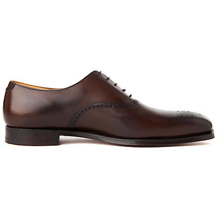 CROCKETT & JONES Edgware Oxford shoes (Dark+brown