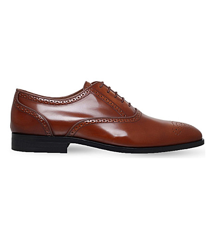 PAUL SMITH Gilbert leather brogues (Tan