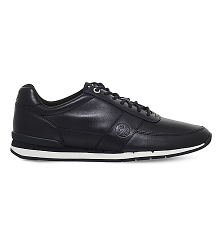 PAUL SMITH Swanson leather trainer