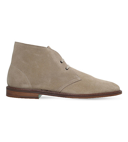 PAUL SMITH Alec suede chukka boots (Beige