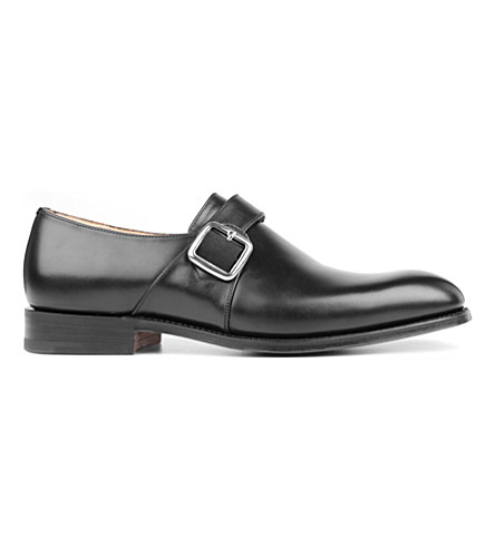 CHURCH Westbury G monk shoes (Black