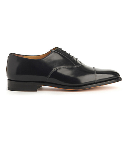 BARKER Arnold G leather shoes (Black