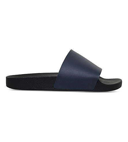 KG KURT GEIGER Waikato slide sandals (Navy