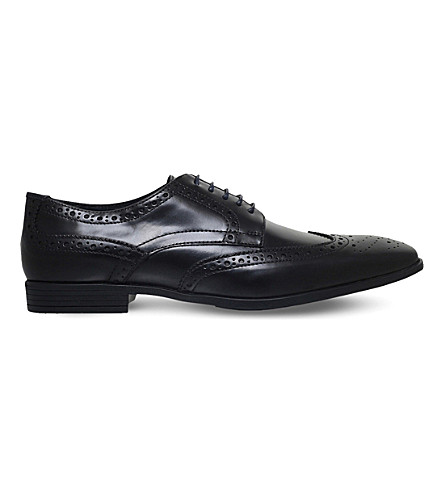 KG KURT GEIGER Eugene leather shoes (Black