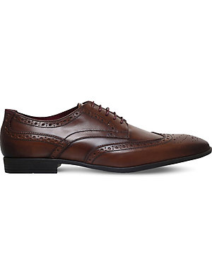 KG KURT GEIGER Eugene leather brogues