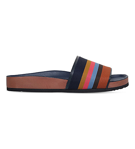 PAUL SMITH Todd pool slides (Brown/oth