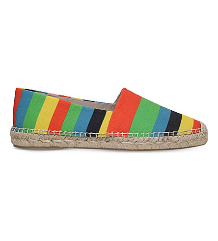 PAUL SMITH Sunny striped espadrilles (Mult/other