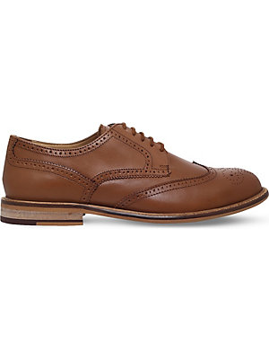 KG KURT GEIGER Hatley leather brogues
