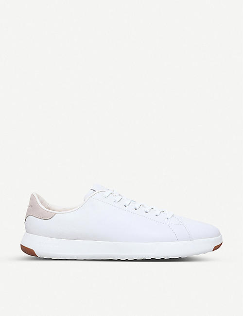 COLE HAAN GrandPrø Tennis leather trainers