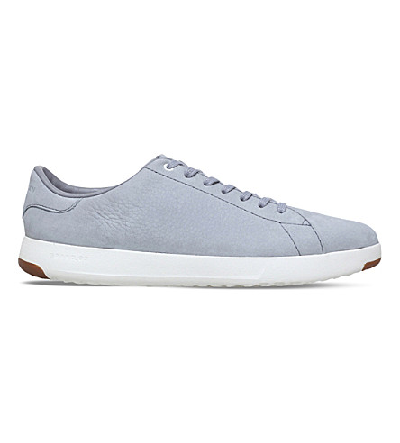 COLE HAAN GrandPrø Tennis nubuck trainers (Grey/light