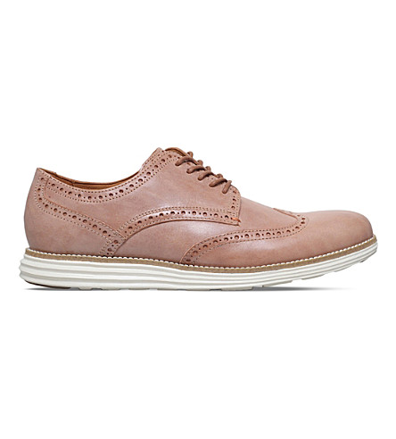 COLE HAAN ØriginalGrand leather Derbys (Beige