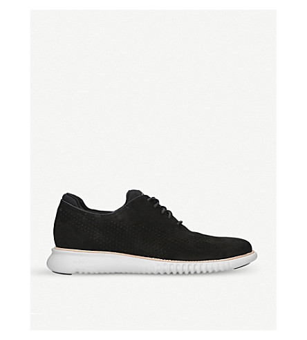 COLE HAAN Zerogrand knit trainers (Black