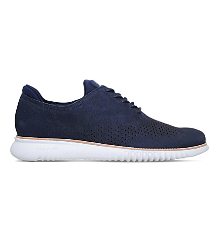 COLE HAAN 2.ZERØGRAND leather shoes (Navy