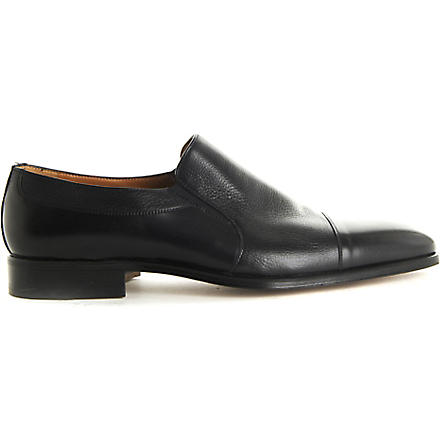 STEMAR Toecap slip-on loafers (Black