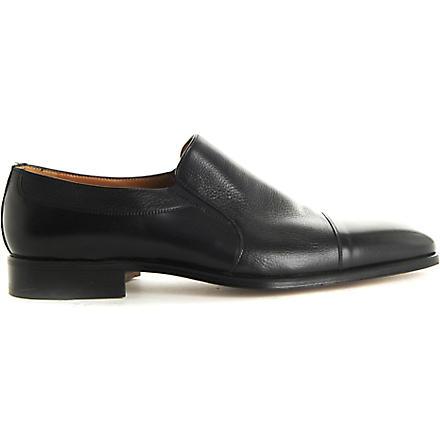 STEMAR Toecap slip-on loafers (Black
