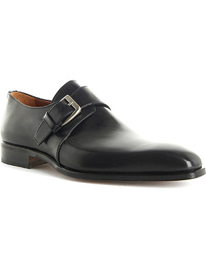 STEMAR Leather monk shoes