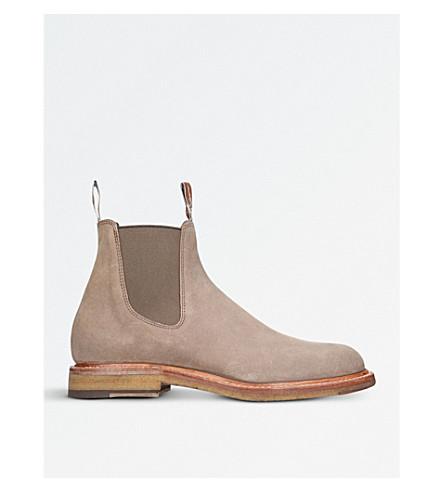 R M WILLIAMS Gilchrist nubuck-leather Chelsea boots (Bone