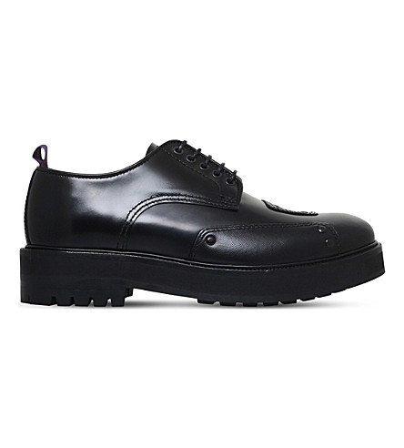 EYTYS Kingston leather Derby shoes (Black
