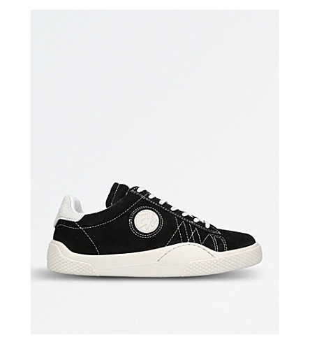 EYTYS Wave Rough suede trainers (Blk/white