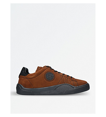 EYTYS Wave Rough suede trainers (Tan+comb