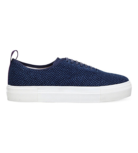 EYTYS Mother Kendo canvas trainers (Navy