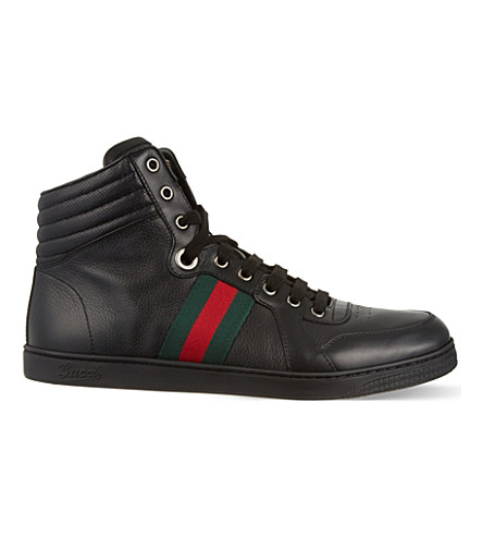 ... GUCCI Coda hi-top trainers (Black. PreviousNext