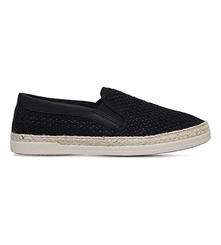 KG KURT GEIGER Ned fabric espadrilles (Black