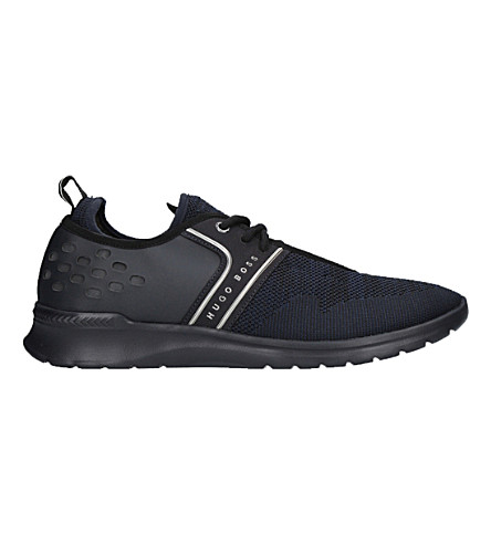BOSS G Extreme Knit Runner trainers (Navy