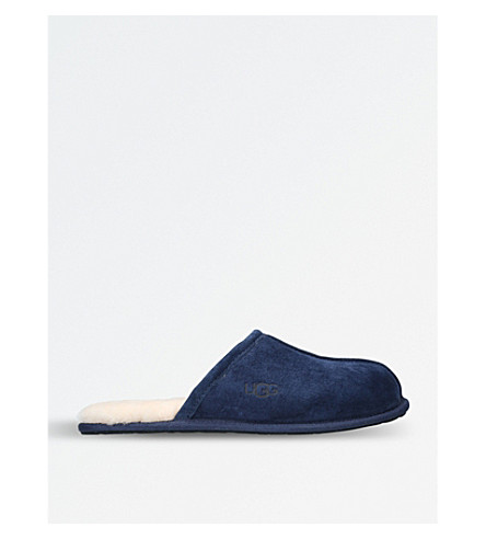 UGG Scuff sheepskin slippers (Navy